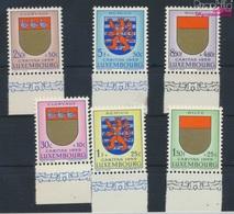Luxemburg 612-617 (kompl.Ausg.) Postfrisch 1959 Luxemburger Wappen (9257973 - Luxemburg
