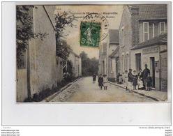 GUERVILLE - Bureau De Poste - Rue De Mantes - Très Bon état - Guerville