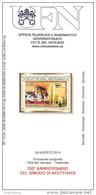 VATICANO - 2014 Brochure Bollettino UFN - 350° Anniv. Sinodo Di Ayutthaya Emissione Congiunta Con Thailandia - Emissioni Congiunte