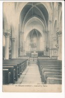 Carte De SAINT VERAND D' OINGT Intérieur De L' église ( Bois D'oingt ??? ) ( Photo Combier La Clayette ) - Other Municipalities