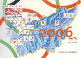 952  Jeux Olympiques 2006, Ski, Hockey Sur Glace - Winter Olympics Candidate Sion, Switzerland. Ice Patinage - Eishockey