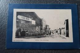 CPA Animée - FOUG (54) - Rue De La Gare - 1915 - Foug