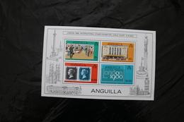 Anguilla 374a Booths London 80 MNH Souvenir Sheet Block 1979  A04s - Anguilla (1968-...)