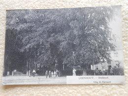 Cpa Loenhout Hofdreef 1922 - Wuustwezel