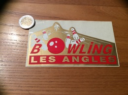 Autocollant, Sticker «2 BOWLING - LES ANGLES (66)» - Autocollants
