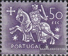 Portugal 806 Unmounted Mint / Never Hinged 1953 Knight - 1910-... Republic