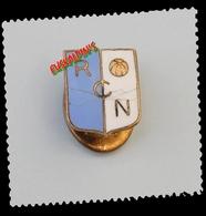 Insigne à Sabot, R.C.N, à Identifier , Ballon De Basket, Boutonnière, 3 Scans - Autres