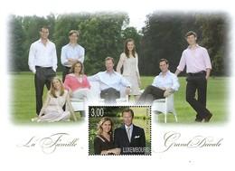 Luxembourg  -  16.Mars 2010  -  Bloc-Feuillet - La Famille Grand-Ducale - Blocs & Feuillets