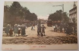 Alfort Le Marché  CPA Toilée - Alfortville