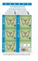 Postzegelboekjes.  Papillons.  Machaon - Postzegelboekjes 1953-....