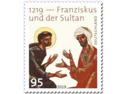 2019 Germany - 800 Years Of Meeting Of St. Francis Of Assisi With Sultan - MNH** MiNr. 3498 Christianity, History, Islam - Unused Stamps