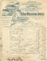Factuur R. Van Meessche Smets Turnhout Otterstraat Groodhandel Kruidenierswaren Koffy Koffie 1910 - 1900 – 1949
