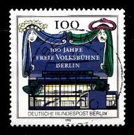 Berlin 1990  Mi.Nr: 866 100.Jahre Freie Volksbühne Berlin  Oblitèré / Used / Gebruikt - [5] Berlin