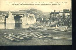 PONT A MOUSSON 1914 Passerelle Ennemi - Pont A Mousson