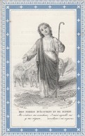 Julien Charles Joseph Auguste Blondiaux 1888-rechterrand Tekst Niet Netjes - Andachtsbilder
