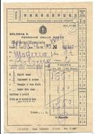 Bologna - Ferrovie Dello Stato - Biglietto Speciale Modena - Bologna. - Railway
