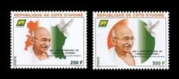 Ivory Coast 2019 Mih. 1648/49 Mahatma Gandhi MNH ** - Côte D'Ivoire (1960-...)