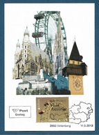 "Österreich  2012  Mi.Nr. 2995 , EUROPA CEPT "" Visite "" Austria - Maximum Card - Hirtenberg 11.5. 2012 - Europa-CEPT"