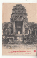 Cambodge - Voyage Aux Monuments Khmers - Angkor-wat - 11 - Porte Principale De La 1ère Enceinte - Cambodge