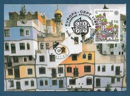Österreich  1987 Mi.Nr. 1876 ,  Europa CEPT Moderne Architektur - Maximum Card - Wien 6.April 1987 - 1987