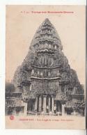 Cambodge - Voyage Aux Monuments Khmers - Angkor-wat - 44 - Tour D'angle Du 3ème étage - Cour Intérieure - Cambodge