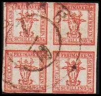 1864. MECKLENBURG-SCHWERIN. Animalhead. 4/4 SCHILLINGE.  () - JF319817 - Mecklenburg-Schwerin
