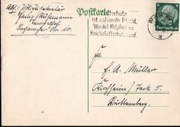 !  3 Belege 1933-34 Aus Berlin Tempelhof - Briefe U. Dokumente