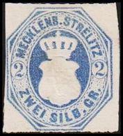 1864. MECKLENBURG-STRELITZ. Wappen. 2 SILB. GR..  () - JF319822 - Mecklenburg-Strelitz