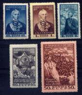 RUSSIE - 1450/1454**  - A.V. SOUVOROV - Neufs