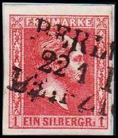 1858. PREUSSEN. Friedrich Wilhelm IV. 1 EIN SILBERGR.  () - JF319852 - Preussen