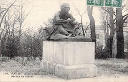 PARIS 19e Buttes -Chaumont - Statue De Marat - Statues