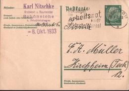 !  Beleg 1933 Aus Schöneiche Bei Berlin Friedrichshagen - Allemagne