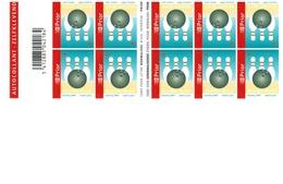 "Boekje Met 10 Zelfklevende Zegels Zonder Waardeaanduiding  ""SPORT- BOWLING"" - Postzegelboekjes 1953-...."