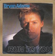 "7"" Single, Bryan Adams - Run To You - Disco, Pop"