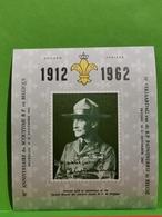 Belgium: 1912-1962, 50th Golden Anniv Of Scouting In Belgium - Belgique