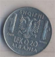 Albanien KM-Nr. : 29 1939 R Vorzüglich Stahl 1939 0,20 Lek Italienische Besetzung (9157921 - Albania
