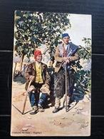 COSTUMI SICILIANI CAPRARI  1908 - Costumes