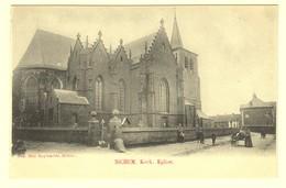 A0941[Postkaart] Sichem. Kerk. Eglise. (Mad. Huybrechts) [Scherpenheuvel Zichem De] - Scherpenheuvel-Zichem