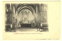 A0943[Postkaart] Sichem. Binnnenste Der Kerk. Intérieur De L'Eglise. (Mad. Huybrechts) [Scherpenheuvel Zichem] - Scherpenheuvel-Zichem