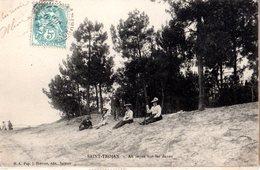 CPA  -   Saint Trojan : Sur La Dune  -   écrite - - Autres Communes