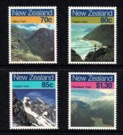 New Zealand 1988 Walking Tracks Set  Of 4 MNH - Nieuw-Zeeland