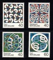 New Zealand 1988 Maori Art Set Of 4 MNH - Ongebruikt