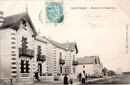 CPA  -   Saint Trojan : Boulevart Du Sanatorium  -   écrite - - Frankreich