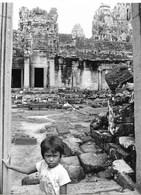 Photo Cambodge Cour Intérieur Du Temple Montagne à Angkor, Haut-lieu Religieux Et Ancienne Capitale Photo Vivant Univers - Places