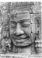 Photo Cambodge Immense Visage Souriant à Angkor, Haut-lieu Religieux Et Ancienne Capitale Photo Vivant Univers - Places