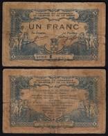Frankreich - France 1 Franc 1915 VALENCE Gebraucht (24037 - Francia