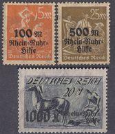 GERMANIA - 1995 - Serie Completa Formata Da 3 Valori Nuovi: Yvert 251 E 251A MH E 251B MNH. - Nuevos