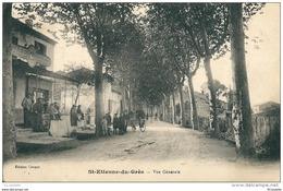 """13 SAINT ETIENNE Du GRES -  Vue  Générale , ( Le CAFE COUPET) """"RARE """"  Trace Colle Verso - France"""