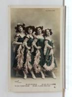 ALCAZAR D'ETE - Miss Robinson, Birks, Williams, Clara Davine - CARTE COULEUR - DOS SIMPLE - Cabarets