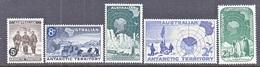 AAT  L 1-5    *   POLAR - Unused Stamps